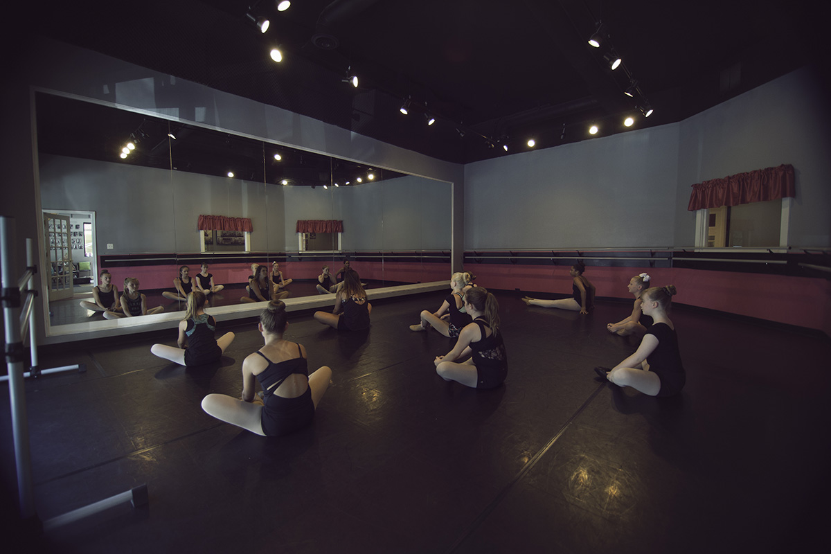 Practice Room for dance and ballet at Fredericksburg Studio of the Arts